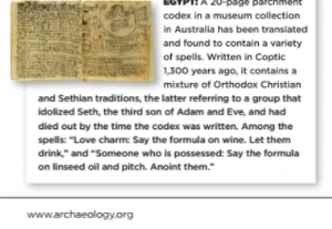 from May 2015 Archaeology Today